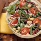 Two-Bean Salad with Tarragon Dressing