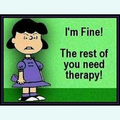 Says the person who needs therapy the most! LOLOLOLOLOL