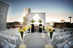 flowers on the aisle - Lux Weddings