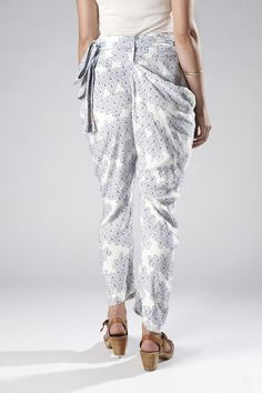These would be great for Asia! The Sideswept Dhoti + Mobi Indigo
