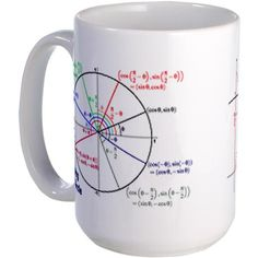 Unit circle mug i would totally buy this!
