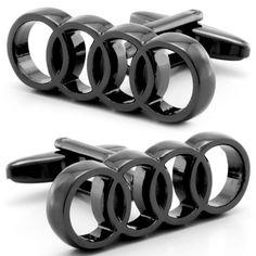 Audi Car Logo Cufflinks - Fine Men's Jewelry