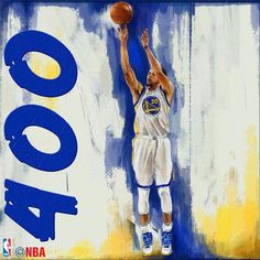 Stephen Curry, Broke his own Record 402 3-pointers in a season.