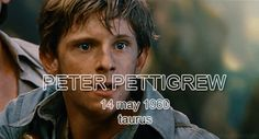 The Marauders birthdays - Peter Pettigrew gif - It looks like Peter is saying I´m sorry