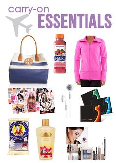 Carry On Essentials. Perfect for traveling during the summer xx
