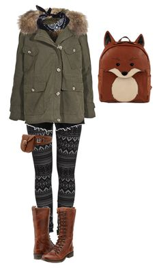 """""""Woodsy"""" by mori-girl-life ❤ liked on Polyvore featuring Pieces, American Eagle Outfitters, IQ+, ASOS and Bed Stü"""