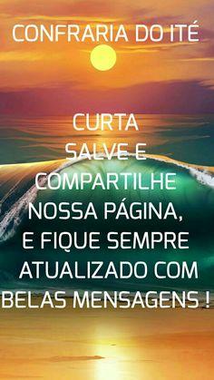 Compartilhe nossa página no Facebook CONFRARIA DO ITÉ