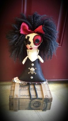 For more dolls like this in to http://www.facebook.com/SalvagedSoulsDolls