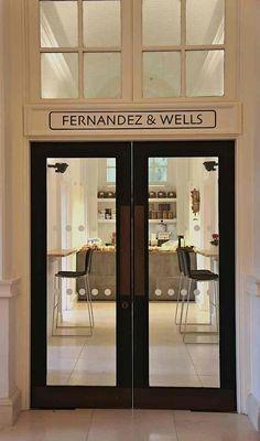 Restaurant Visit: Fernandez & Wells at Somerset House : Remodelista