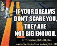 Do your dreams scare you?  How can I help you reach for your dreams and achieve the goals you have for yourself?  Let me help you!