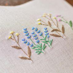 刺繍、刺繍、刺繍、飽きないなぁ〜(*uωu*)