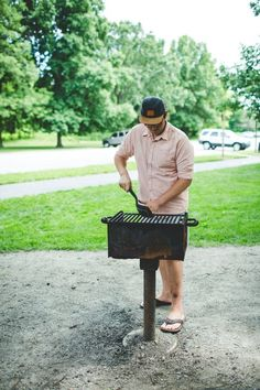 Whether you use a standard Weber kettle grill at home or plan to use the public grills at a park or campsite, charcoal grills do require some cleaning and maintenance to make sure they function well and cook your food properly. Here's how to do it!
