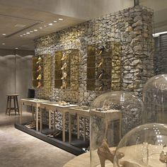 Luxury shoe store design for Luiza Barcelos, Brazil
