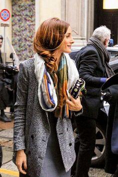 Olivia Palermo's Hairstyles (THE OLIVIA PALERMO LOOKBOOK)