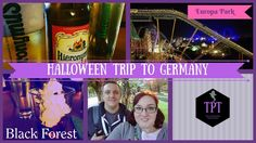 The Phantom Travelers have been to Germany! Specifically, the Black Forest region in Germany and Europa Park. This video is our travel vlog, as well as a tra. Travel Vlog, Travel Videos, Us Travel, Black Forest, Hotel Reviews, Germany Travel, Tours, Halloween, Germany Destinations