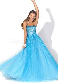 Tulle Ball Gown Prom Dress