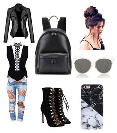 """Girls night out"" by kaitlynsofer on Polyvore featuring Balenciaga and Christian Dior"