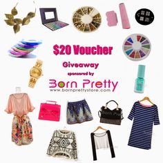 Beauty-Fulll: Born Pretty Store's $20 Voucher Giveaway