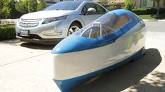 Check out this ride! UC Davis professor and students working to find ways to use less gas when on the road.