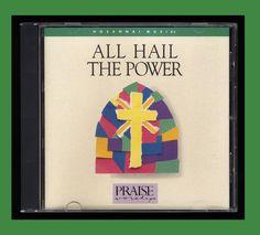 Hosanna! Music - All Hail The Power Praise Worship (CD 1992) OOP VG CCM  #ChristianGospel