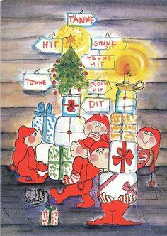 Virpi Pekkala Christmas Journal, Christmas Tale, Christmas Cards, Xmas, Christmas Illustration, Cute Illustration, Art Wall Kids, Wall Art, Winter Art