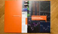 A corporate brochure informing about the products and services of Bayerngas Energy Trading.
