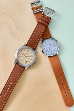 The gift that never goes out of style? A class watch for her or him. Our new Pilot 54 and Vintage muse watches have leather straps they'll love.