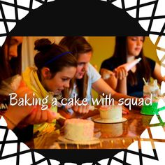 Summer Bucket List!!!!! Squad cake