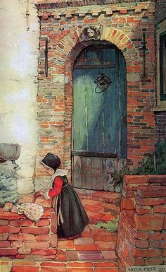Anton Pieck was a Dutch painter and graphic artist. The work of Anton Pieck contains paintings in oil and watercolour, etchings. Figure Painting, Painting & Drawing, Anton Pieck, Art Gallery, Edmund Dulac, Dutch Painters, 3d Prints, Dutch Artists, Arabian Nights