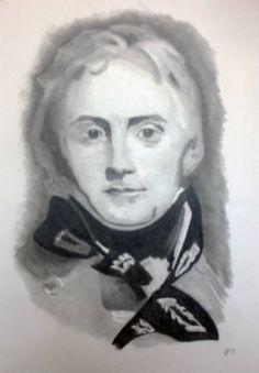 Sir John Moore pencil portrait regengy