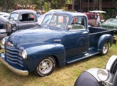 '52 Chevrolet Delux 5 window short bed pickup