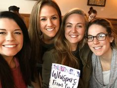 """""""This morning was a gift. A Saturday morning coffee date turned last minute into five girls spending 2.5 hours at a coffee shop, talking about our shared struggles and thankfulness for people like Mellie Boozer and her 30-day devotional, 'Whispers From God,' that has been such a blessing for each of us. Thank you, Mellie, for sharing such words of encouragement the Lord spoke through your pen."""" -Leighton N. 5 Hours, Saturday Morning, A Blessing, Words Of Encouragement, 30 Day, People Like, Whisper, Morning Coffee, Coffee Shop"""