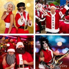 SantaCon Christmas Costumes & Santa Suit Ideas - Party City