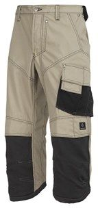 When it's hot you want to be cool, but you don't want to compromise your safety. These Pirate Trousers are made of durable yet super comfortable rip-stop fabric and offer the best ventilation. They also have our KneeGuard sytem to keep your knees protected. - Snickers Workwear Artnr. 3913