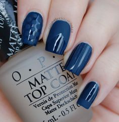 Cutie-cles: OPI Matte Top Coat - Swatches & Review