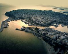 Πειραιας Attica Greece, Us Sailing, Birds Eye View, Old Photos, Vintage Photos, Greek Islands, Hiking Trails, Sunrise, In This Moment