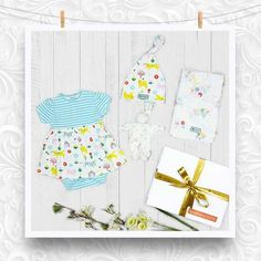 707d68b9bc94 A beautiful baby girl organic gift set perfectly presented in a luxury gift  box with ribbon