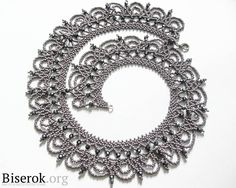серье колье - This is some of the most beautiful bead lace I've ever seen!