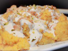 Custard Sojee/Semolina Pudding