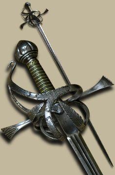 Rapier, 1590-1610,