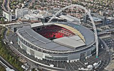 Sportsmail offers a glimpse into the past as images bring Wembley's stunning transformation to life ahead of the FA Cup final clash between Arsenal and Aston Villa on Saturday. English Football Stadiums, Then And Now Pictures, Transformation Pictures, Bolton Wanderers, Liverpool Fans, Hull City, Fa Cup Final, England Football, Wembley Stadium