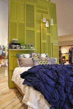 1000 id es sur t tes de lit anciennes sur pinterest t tes de lit fabrique - Tete de lit avec vieux volets ...