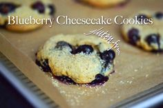 Gluten-free Blueberry Cheesecake Cookies - I made these today and they are hands down my new favorite!! I'm curious to experiment with almond or lemon flavoring....