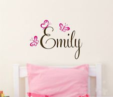 Girl Name For Bedroom Door PERSONALIZED Vinyl Wall Decal Bedroom - Custom made vinyl wall decals