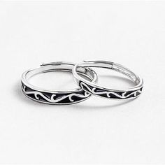These are beautiful designs of finest 925 sterling silver couple rings, perfect for the gift-giving occasion to gift these rings to your life partner or your close ones who are in love 💖💖💖 For more info, visit at www.comfysilver.com #925sterlingsilver #silvercouplerings #couplerings #couplegift #silverrings #anniversarygift Promise Rings For Couples, Couple Rings, Handmade Engagement Rings, Couple Jewelry, Bridesmaid Earrings, Wedding Jewelry, Sterling Silver Rings, Silver Bands, Glaze