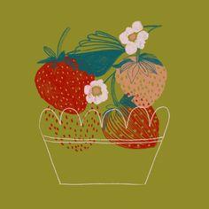 Épinglé par olj studio sur fruit иллюстрации, графика et фрукты. Fruit Illustration, Coffee Illustration, Botanical Illustration, Invisible Creature, Illustrations Vintage, Fine Art Paper, Line Art, Food Art, Illustrators