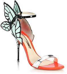 Sophia Webster Chiara Butterfly Patent Leather Sandals