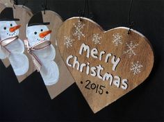 5 PERSONALIZED CHRISTMAS DECOR Christmas tree by cinnamontage