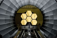 Golden mirror: Inside NASA's new golden space telescope