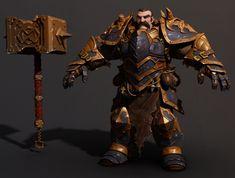 ArtStation - Heavy Knight, Jose Rodriguez